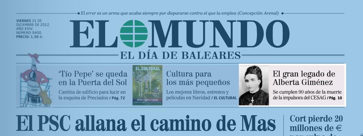 De Mallorca al mundo