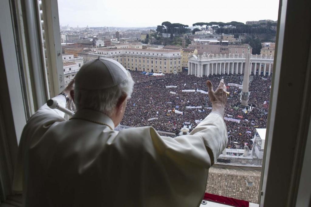 Último Ángelus de Benedicto XVI