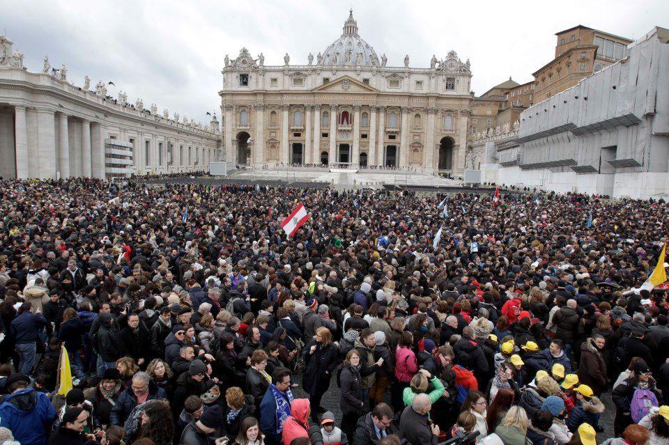 San Pedro en el primer Angelus del Papa Francisco