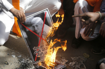 Y ahora la Madre Teresa quemada