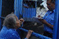 96 años y se pasa 8 días esperando a su nieto inocente